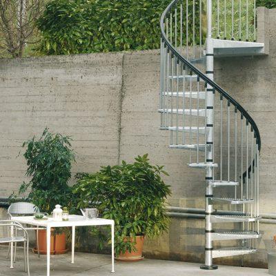 Arkè - CIVIK ZINK kültéri lépcső