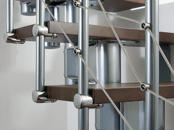 Pixima - Cube Long Line csigalépcső
