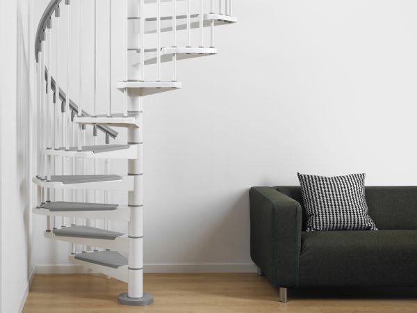 Pixima - Steel csigalépcső